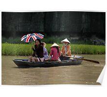 Vietnam - Around Hanoï - World's people Poster