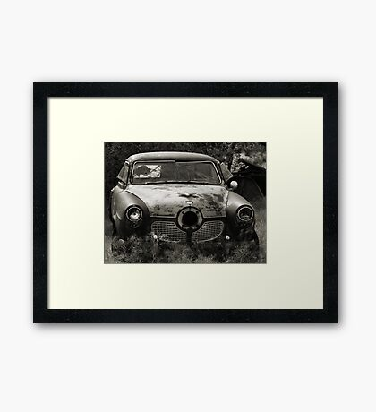 The Bullet Ride ~ 2  ( BoneYard Series ) Framed Print