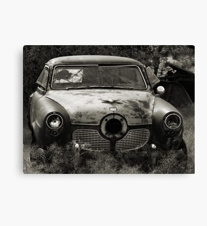 The Bullet Ride ~ 2  ( BoneYard Series ) Canvas Print