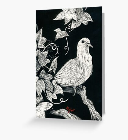 Dove 1 Greeting Card