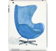 The Egg Chair - Watercolor Painting iPad Case/Skin