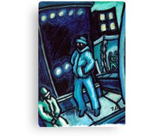 Blue walker no.2 Canvas Print