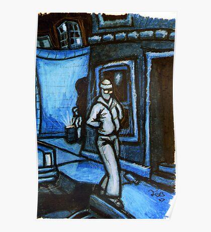 Blue Walker no.3 Poster