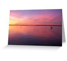 Colors of Jamaica Bay Greeting Card