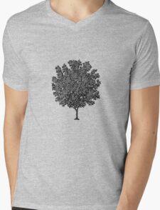 Tree Mens V-Neck T-Shirt