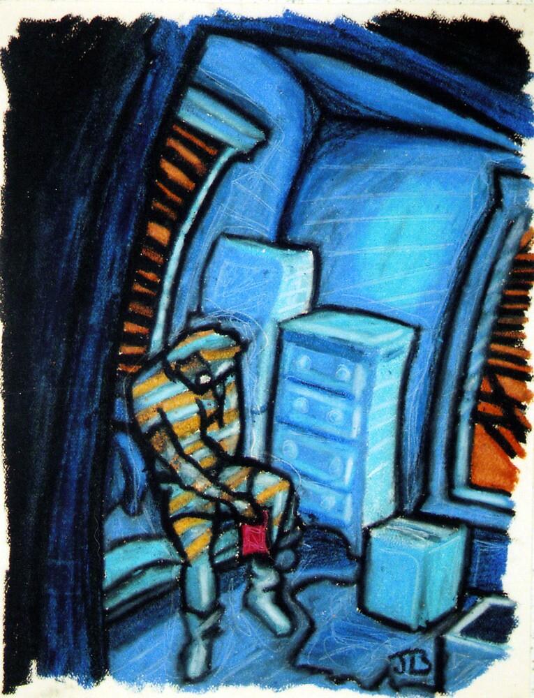 Boxes (Blue and Orange) by jimb88