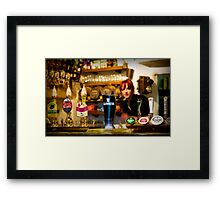 Guinness is good for you Framed Print