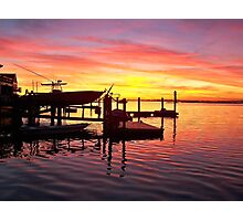 Evening Colors of Jamaica Bay Photographic Print