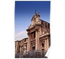Santuario della Madonna del Carmine Poster