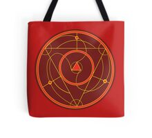Flaming Nights Circle Tote Bag