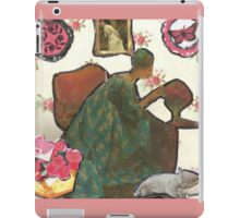 Focus On Flower Arranging iPad Case/Skin