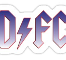 Dundee ACDC Sticker