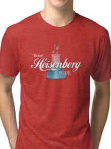 Enjoy Heisenberg Blue Tri-blend T-Shirt