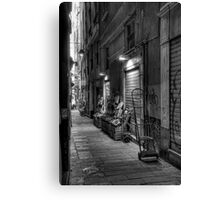 Alley Genoa 2 Canvas Print
