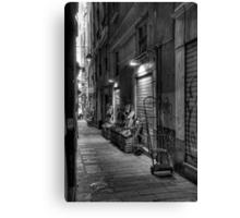 Alley Genoa 2 Canvas Print
