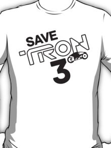 Save Tron 3 [black] T-Shirt