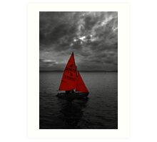 The Colour Red Art Print