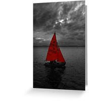The Colour Red Greeting Card
