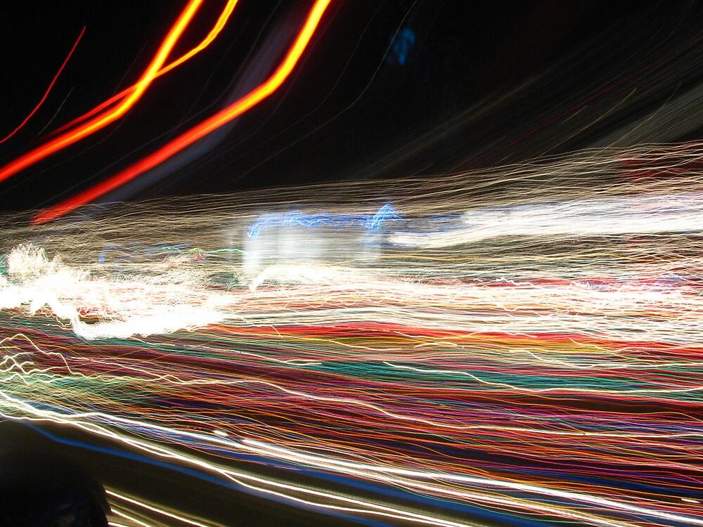 timewarp through christmas light-Ramar Estates, Springfield Ohio by AmandaFerryman