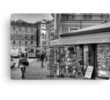 Alley Genoa 3 Canvas Print