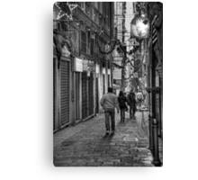 Alley Genoa 4 Canvas Print