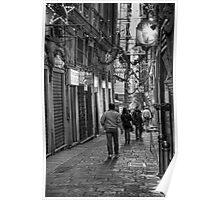 Alley Genoa 4 Poster