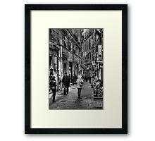 Alley Genoa 5 Framed Print