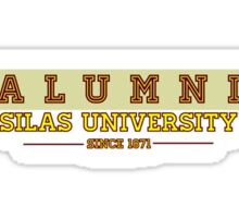 Alumni Silas University  Sticker