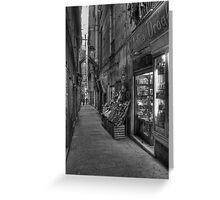 Alley Genoa 6 Greeting Card