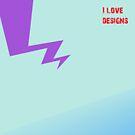 I Love design by designtime