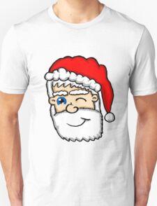 Winking Santa  Unisex T-Shirt