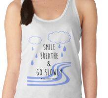 Smile, Breathe, and Go Slowly Women's Tank Top