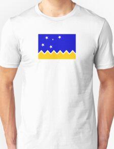 Flag of Chilean Antarctic Territory  Unisex T-Shirt