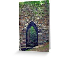 Lower Poinsett Bridge Greeting Card