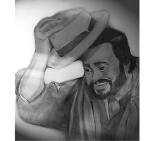 Hats off to Pavarotti Photographic Print