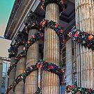 Festive Columns by Tom Gomez