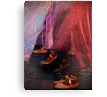 The joy of dancing Canvas Print