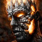 Magma King by Javier Antunez