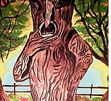 WIZARD OF OZ SELFISH APPLE TREE by JoAnnHayden