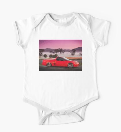 Kim Smith's VY Holden Commodore Ute 'Wildfire' One Piece - Short Sleeve