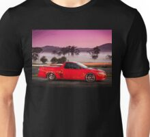 Kim Smith's VY Holden Commodore Ute 'Wildfire' Unisex T-Shirt