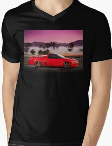 Kim Smith's VY Holden Commodore Ute 'Wildfire' Mens V-Neck T-Shirt