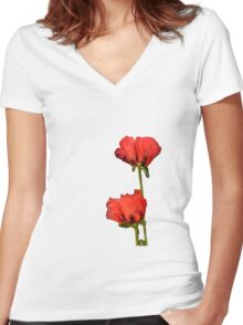 Passion Women's Fitted V-Neck T-Shirt