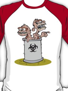 Zombie Barrel of Monkeys T-Shirt