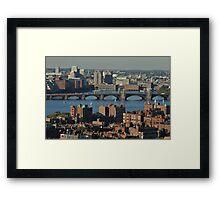 boston 09 Framed Print