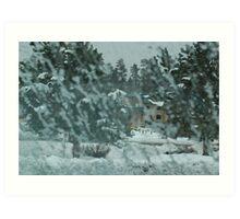 Blizzard in Flagstaff, 125 viewa, 3 comments Art Print