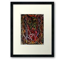 Goblin of Forms Framed Print