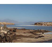 a desolate Djibouti landscape Photographic Print