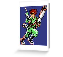 Bionic Commando T-shirt 1 Greeting Card