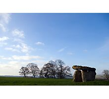 Burial Chamber at St. Lythan's Photographic Print